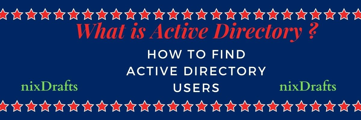 what is active directory and how to find active directory users