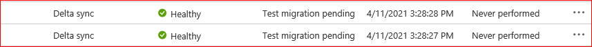 Replicated Server Healthy Status in Azure Portal